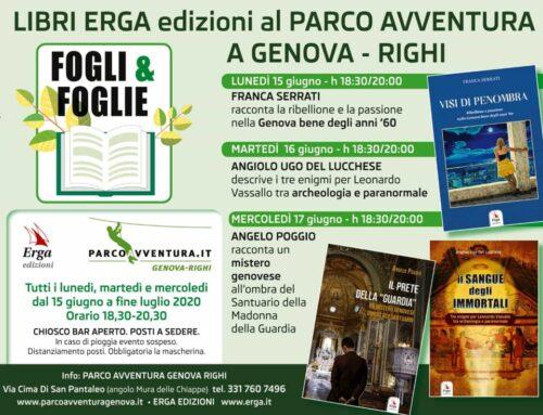 """""""Fogli e Foglie"""": il Parco Avventura del Righi si trasforma in un giardino per la presentazione di libri"""
