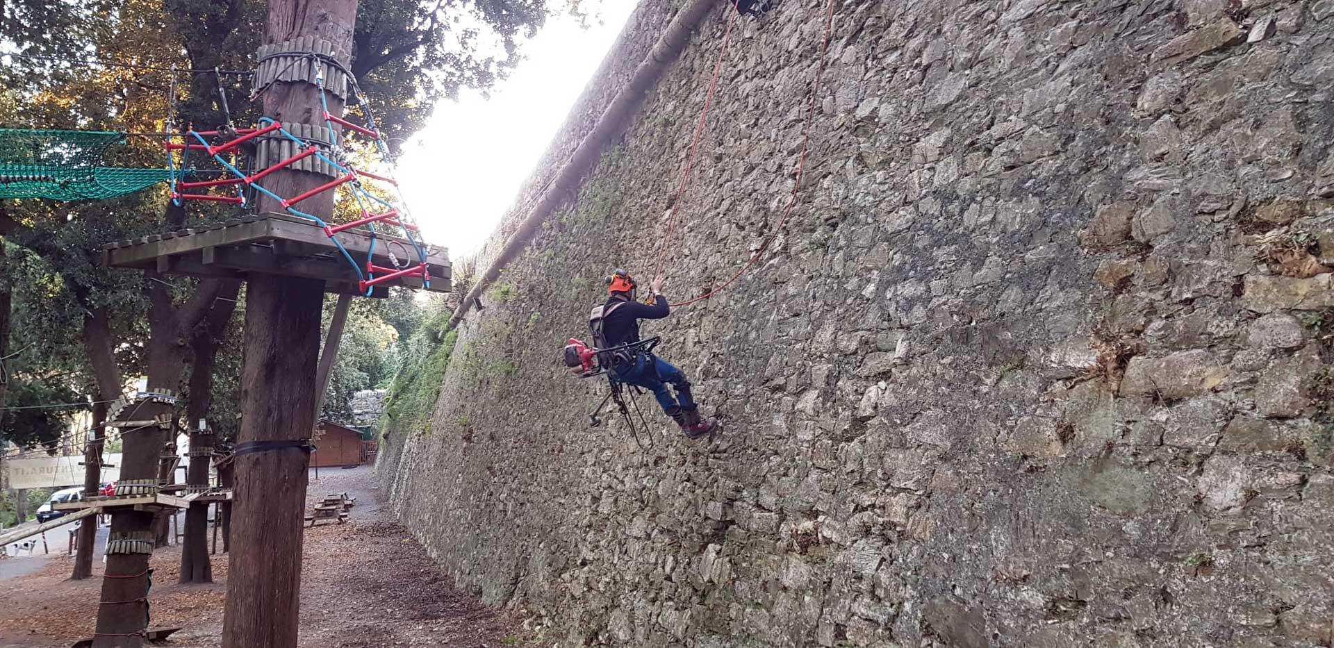 Antiche mura Genova Righi