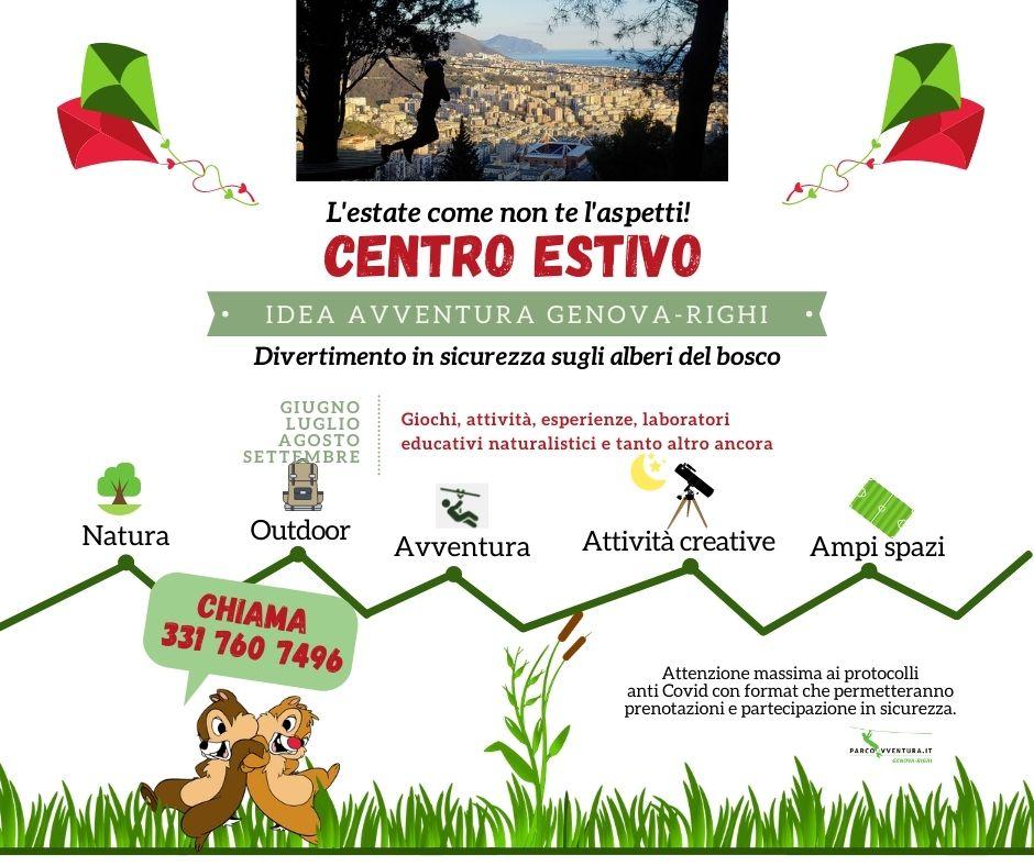 Centro estivo Genova Parco Avventura Righi